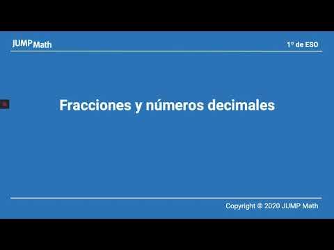 1è. Unidad 4. Fracciones y números decimales