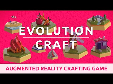 Augmented Reality Crafting Game: Evolution Craft