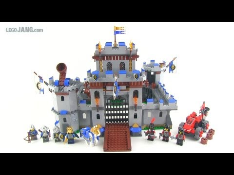 LEGO Castle set 70404 King's Castle set review!