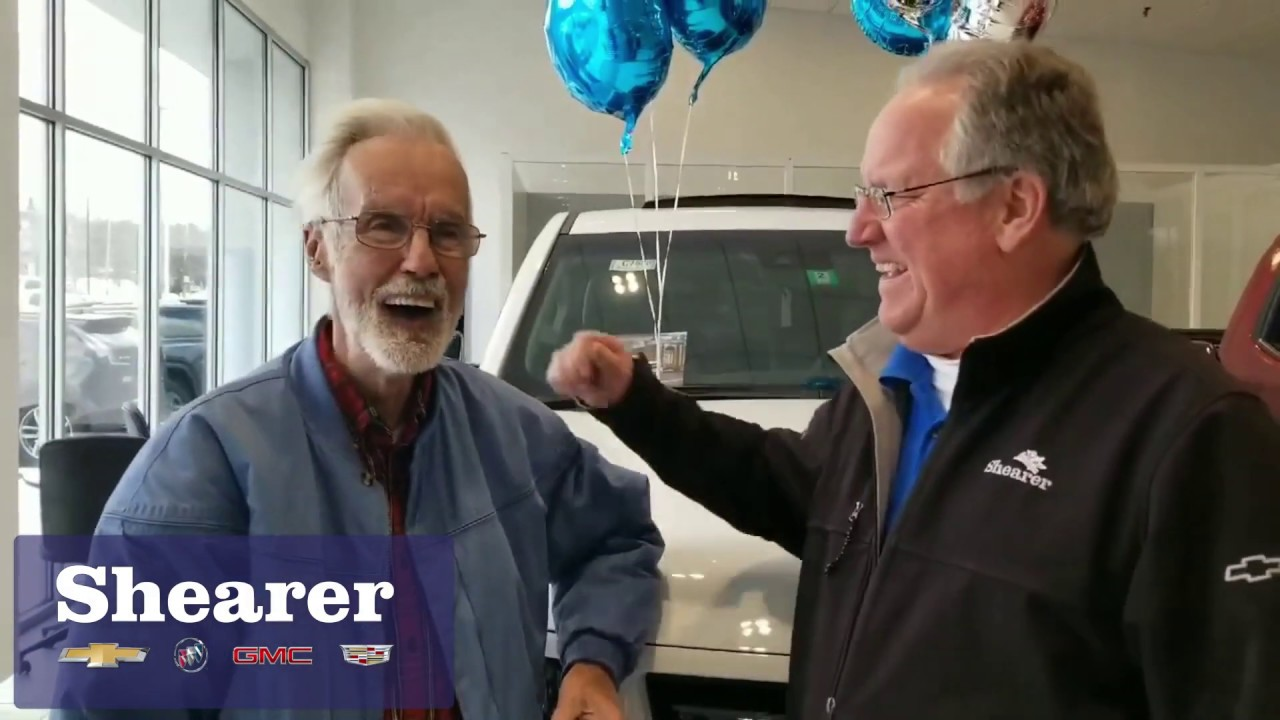 Hank S Happy Customer Richard At Shearer Chevrolet Buick Gmc Cadillac