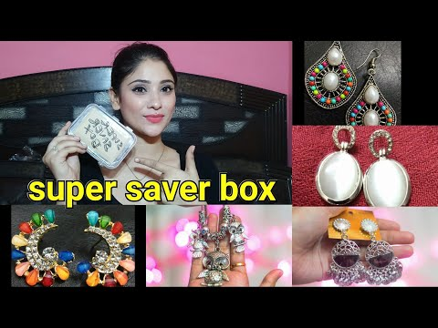 Super saver box || affordable Jewellery subscription  || December unboxing || shystyles