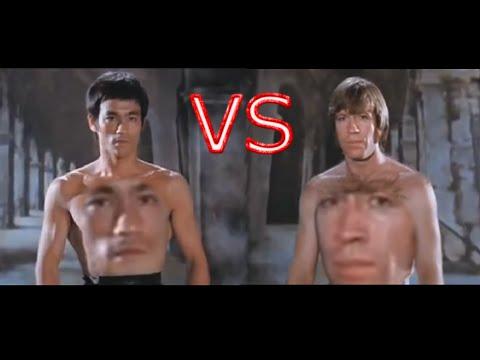 YouTube Poop Kacke: Bruce Lee Vs Chuck Norris epic fight