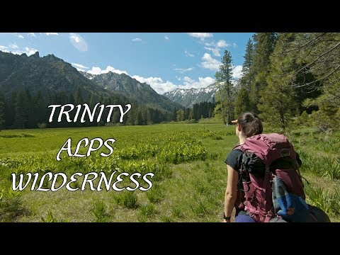 Beautiful Trail Hiking In Trinity Alps Wilderness: Morris Meadow To Emerald Lake (Unreal!!!)