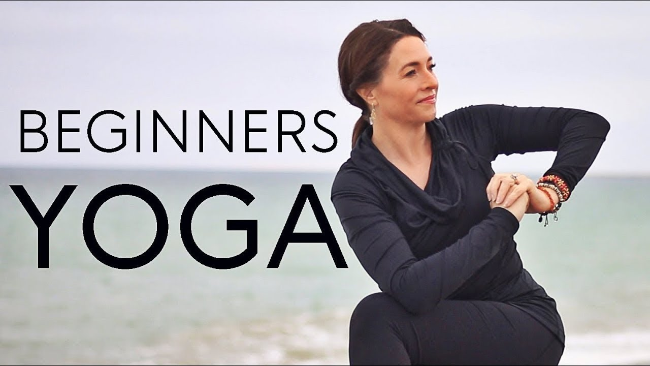 20 Minute Beginners Yoga (For Weight Loss) | Fightmaster Yoga Videos