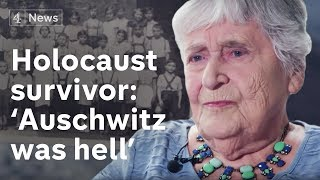 Holocaust survivor interview, 2017