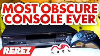 The Most Obscure Console Ever: The Nuon - Rare Obscure or Retro - Rerez