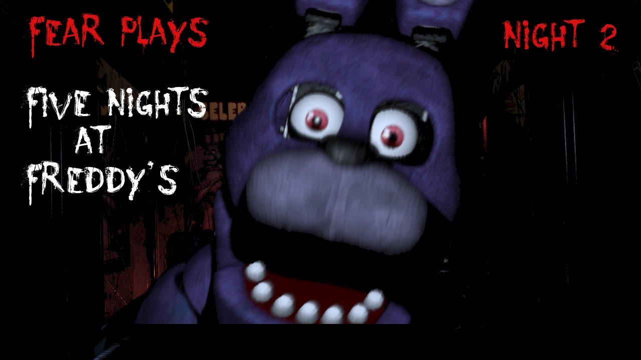 RAMPAGING BARNEY Fear Plays Five Nights At Freddys