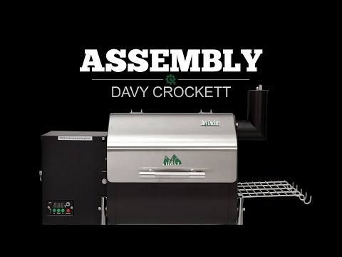 Davy Crockett Pellet Grill Assembly Video - Green Mountain Grills