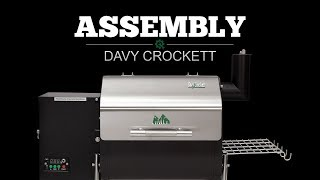 2016 Davy Crockett Pellet Grill Assembly Video | Green Mountain Grills