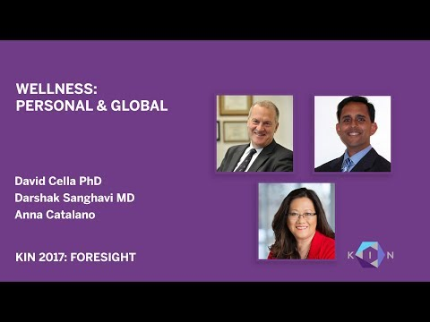 David Cella, PhD, Darshak Sanghavi, MD, Anna Catalano: KIN Global 2017