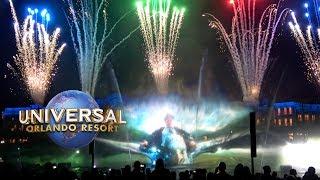 Harry Potter & Jurassic Park! Universal Cinematic Celebration Segments Universal Studios Orlando
