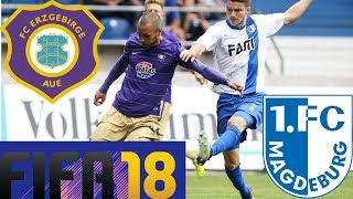 🔥FIFA 18🔥 / 2. Bundesliga / Prognose / Erzgebirge Aue - 1. FC Magdeburg / 2. Spieltag