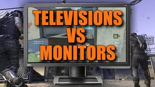 STG44 IS AMAZING! Gaming on a TV vs Gaming on a Monitor? (Advanced Warfare)
