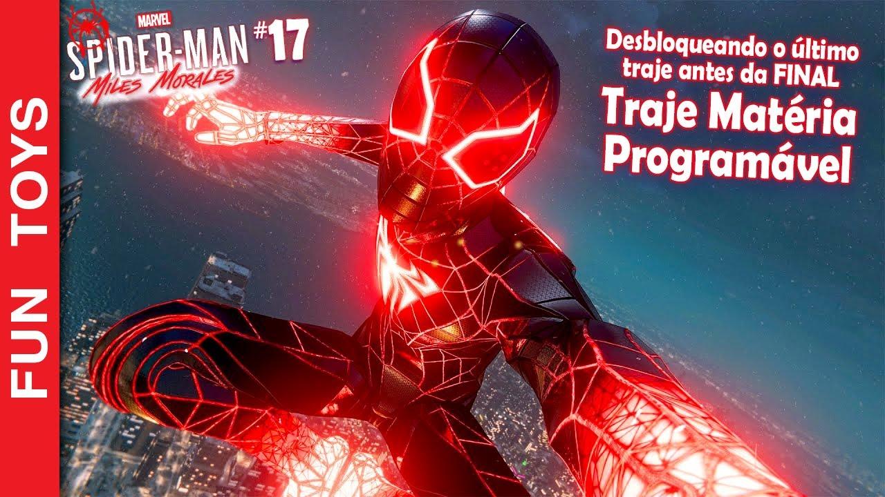 🕷 Marvel's Spider-Man: Miles Morales #17 - Traje Matéria Programável, o ÚLTIMO Traje antes do FINAL!