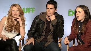 Mae Whitman, Bella Thorne, and Robbie Amell play SPOT THE DUFF