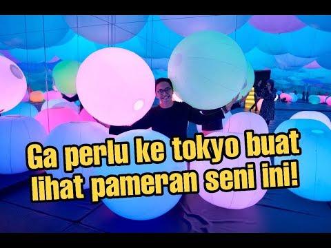 TEAMLAB FUTURE PARK JAKARTA!