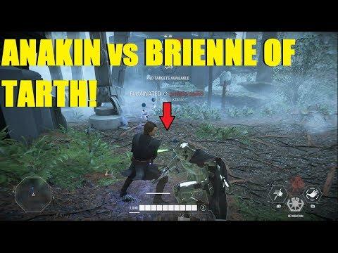 Star Wars Battlefront 2 - Anakin DESTROYS Brienne of Tarth! | 2 games (Anakin, Bossk) thumbnail
