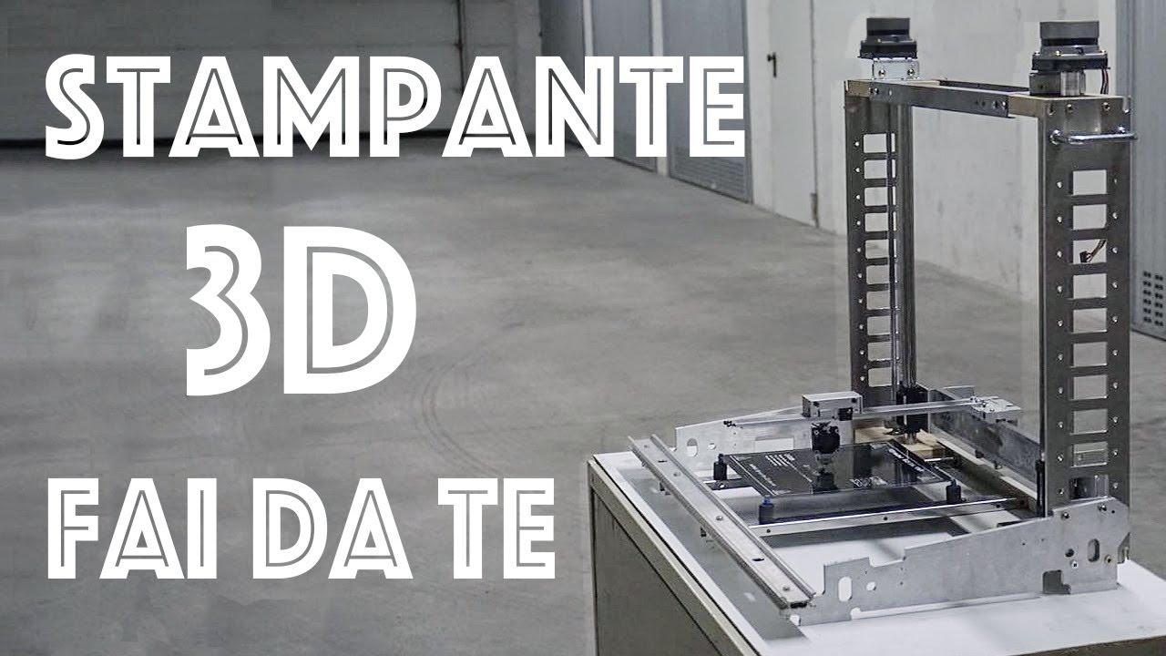 La struttura stampante 3d super economica 1 fai da te for Recinzione economica fai da te