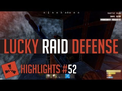 Luckiest RAID Defense! (Rust Highlights #52) thumbnail