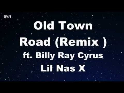 Karaoke♬ Old Town Road ft. Billy Ray Cyrus ( Remix ) - Lil Nas X 【No Guide Melody】 Instrumental