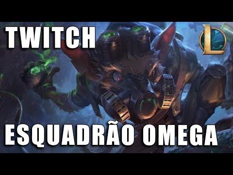 Twitch Esquadrão Ômega - League of Legends (Pré BR)