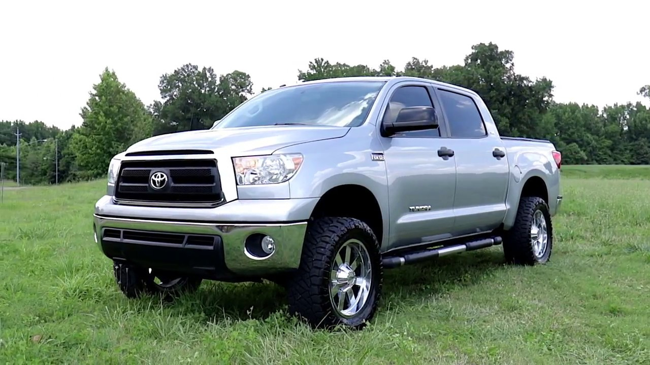 Toyota Tundra With 4 Inch Lift >> 2007 2017 Toyota Tundra 4 Inch Bolt On Suspension Lift Kit By Rough