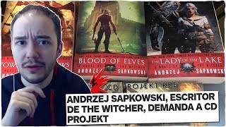 El escritor de THE WITCHER demanda a CD PROJEKT RED