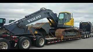 2014 Volvo ECR 350CL -- 79,000 LB --  Niagara Falls, NY 2  Dryden, ON