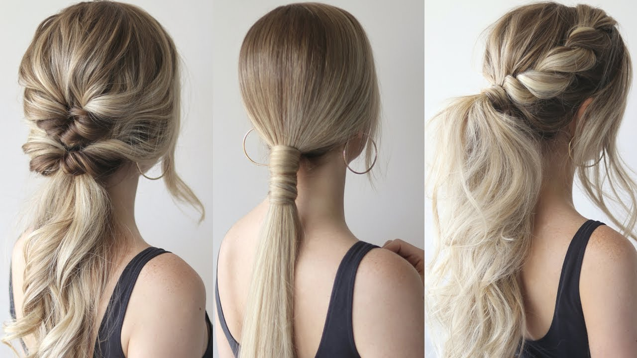easy ponytails perfect