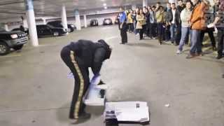 Crazy Man Destroy PS4 on launch day