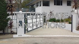 Los Angeles Hillside Iron and Glass Gates | 1.800.562.5770 | Mulholland Security