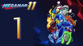 Mega Man 11 Kicks DSP's BUTT! The Playthrough pt1 - WHOA! These Stages are Tough