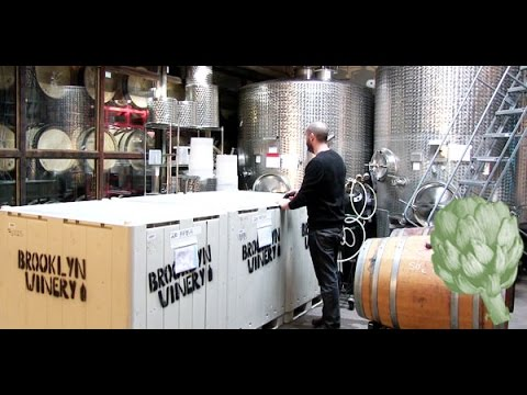 Urban Winemaking: A Look At Brooklyn Winery | Potluck Video