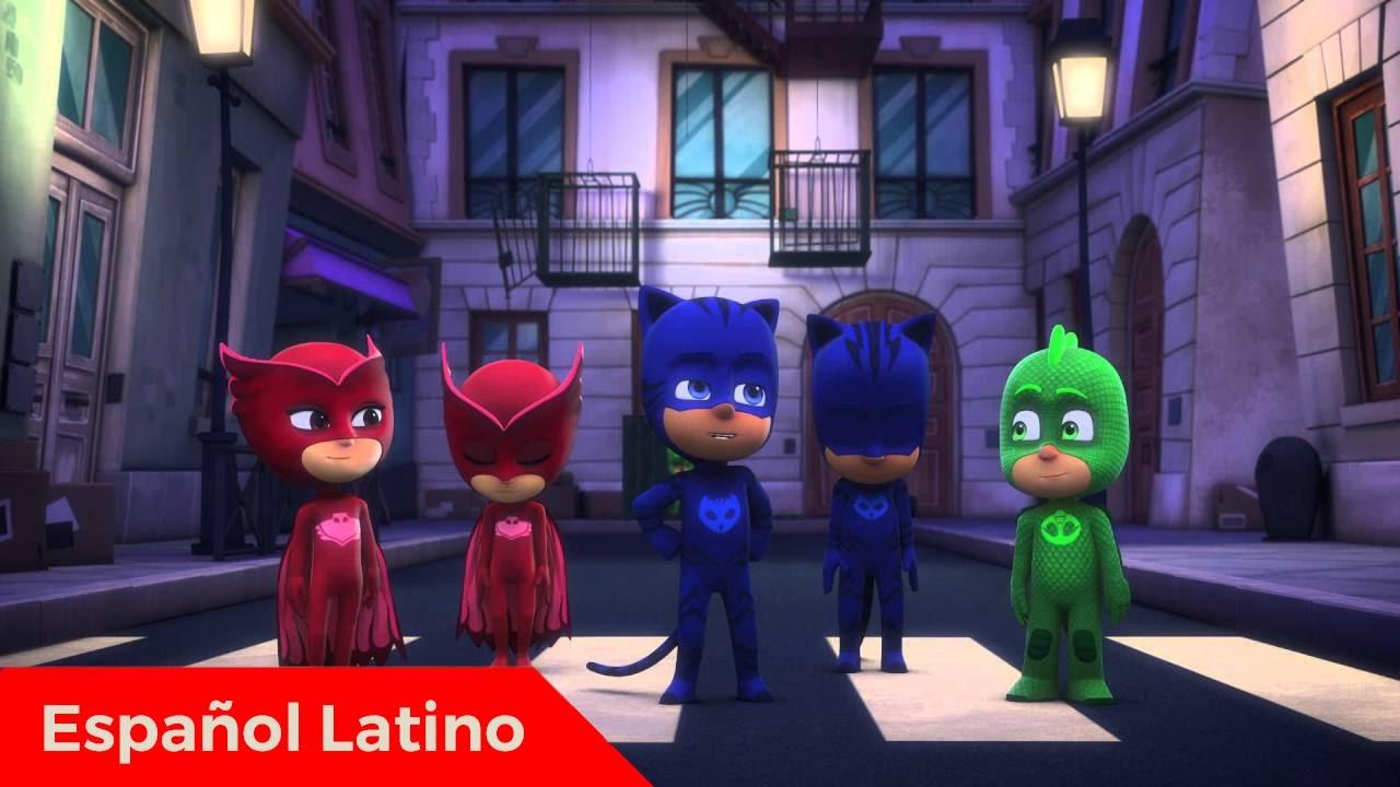 5ed9bc6dd Pj Masks heroes en pijamas en español latino episodio 13 catboy contra  robogato - YouTube