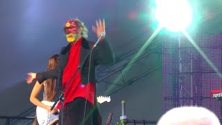 Crazy World of Arthur Brown live Hitchin ROTW Rhythms of the World 2014