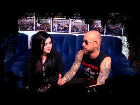 Heavy Metal Television Own Veejay Susie Von Slaughter interviews Behemoth