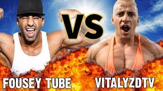 FOUSEY Vs. VITALY | VERSUS | Before They Were Famous