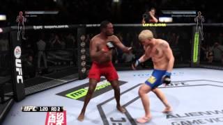 EA SPORTS™ UFC® eerst dansen en dan K.O