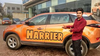 Driving Tata Harrier For The First Time | 2019 Tata Harrier | Tata Harrier Test Drive | Harrier2019