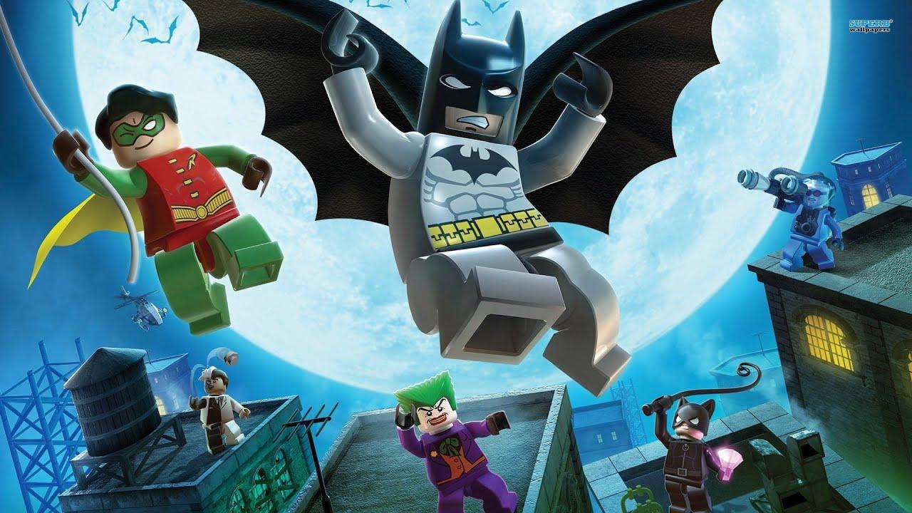 LEGO Batman All Cutscenes (Game Movie) 1080p HD - YouTube