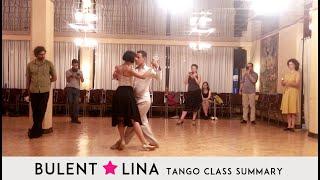 Wrap Gancho & Volcadas | Bulent & Lina Argentine Tango Lesson Summary | Toronto Tango Classes