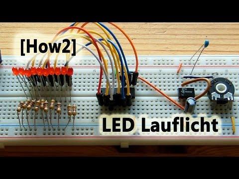 [How2] LED Lauflicht selbst gebaut