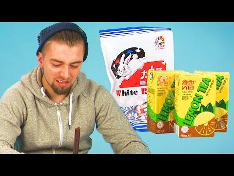 Irish People Taste Test Chinese Snacks