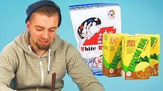Irish People Taste Test Chinese Snacks