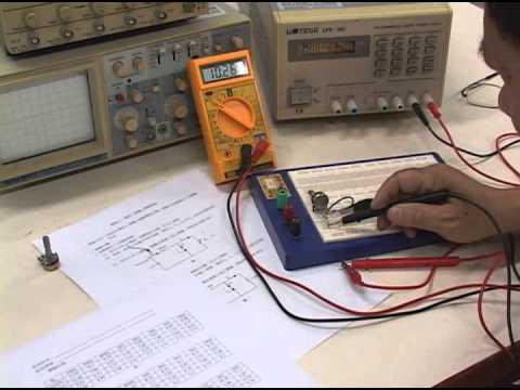 《STUST OCW》電子學_實驗五 稽納二極體之穩壓電路 影片 - YouTube