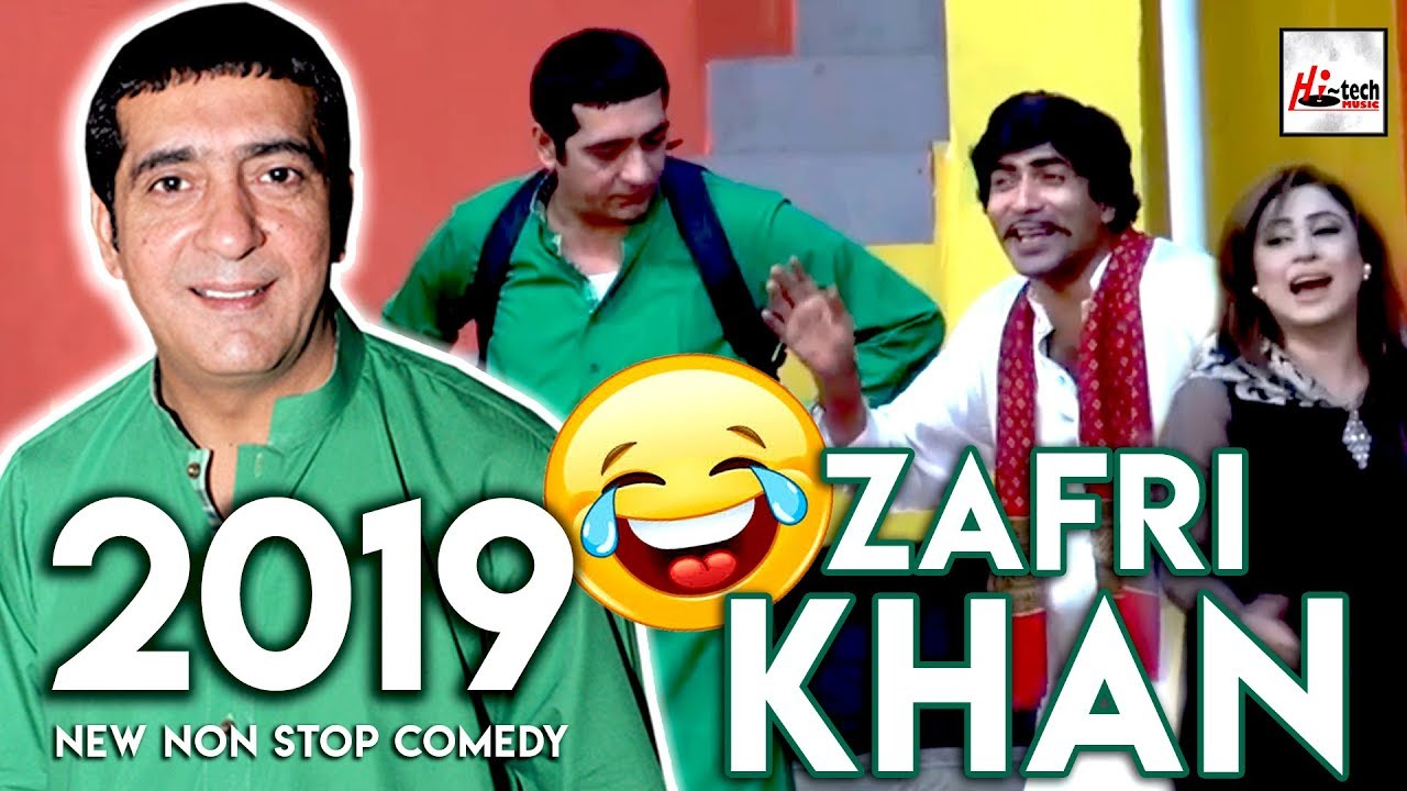 ZAFRI KHAN (2019 New Non Stop Comedy) Must Watch Very Funny????????Pakistani Stage Drama Videos
