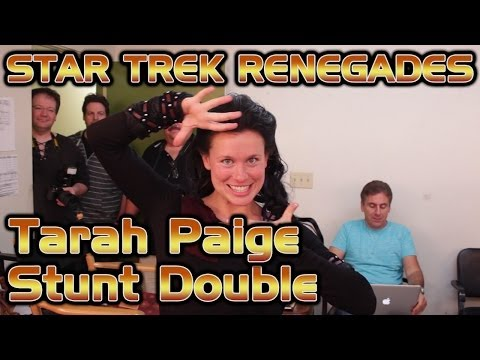 Tarah Paige - Stunt Double - Star Trek Renegades