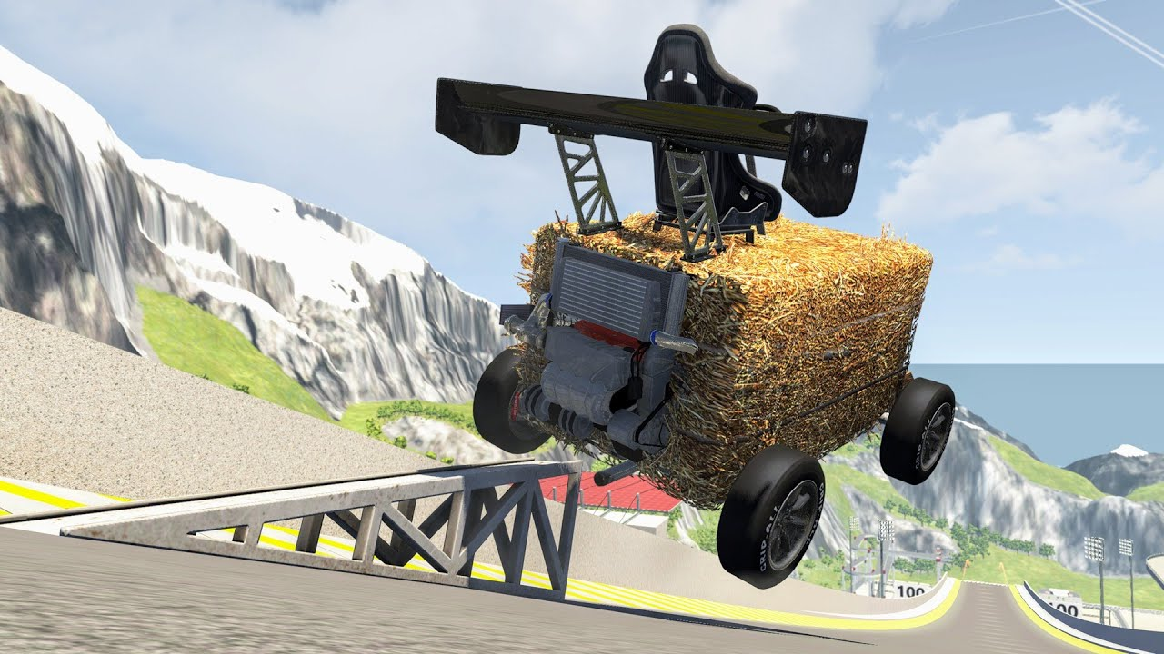 Satisfying Rollover Crashes #37 – BeamNG Drive | CrashBoomPunk