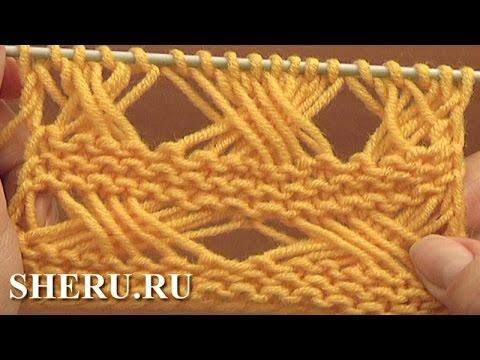 плетенка из длинных снятых петель