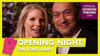 The King And I opens at the London Palladium